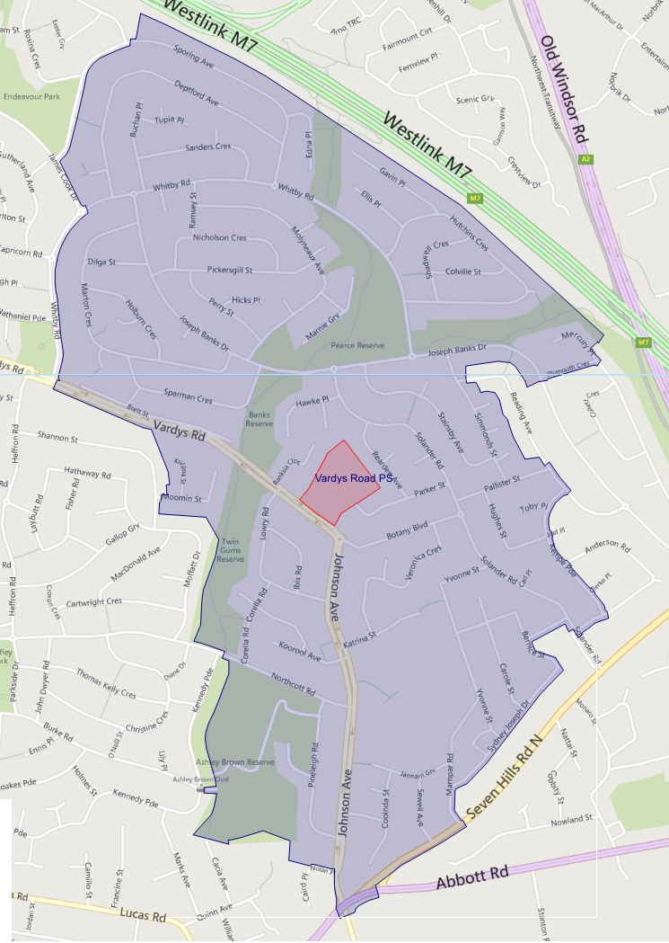 School catchment area
